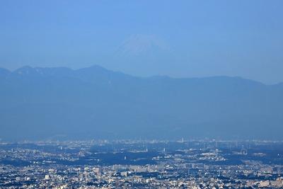 天望回廊から見た富士山