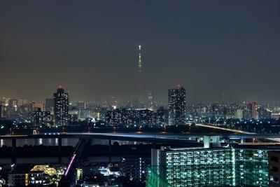 埼玉県をイメージした特別ライティング