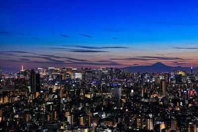 東京スカイツリーイーストタワーからの夜景