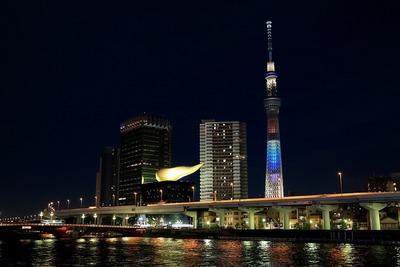 東京スカイツリー特別ライティング「HAPPY」