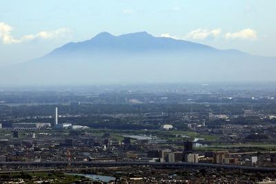 東京スカイツリーから見た筑波山