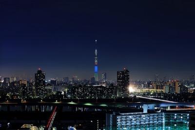 東京パラリンピック開催1000日前特別ライティング
