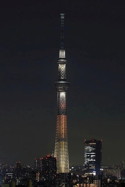 東京スカイツリーライティング幟(のぼり)