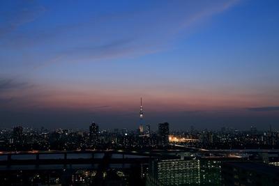 東京スカイツリーのあるトワイライトタイム