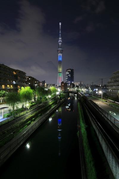 東京2020オリンピック2年前 特別ライティング