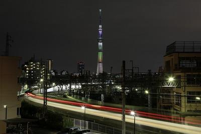 東京スカイツリー和食の日ライティング「お鍋」
