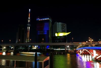 東京スカイツリーと吾妻橋