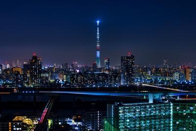栃木県をイメージした特別ライティング