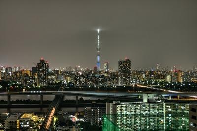 新潟県をイメージした特別ライティング