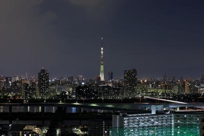 東京スカイツリー夜景「明花」