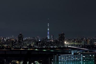 東京スカイツリー夜景「咲」