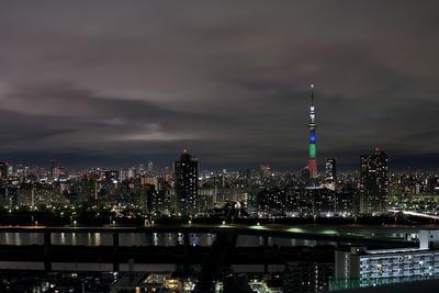 東京スカイツリー光の3原色