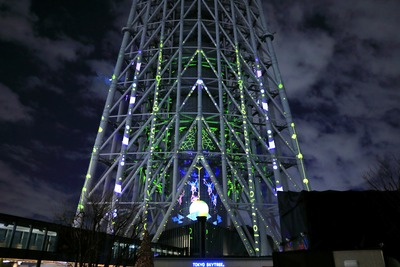 東京スカイツリープロジェクションマッピング