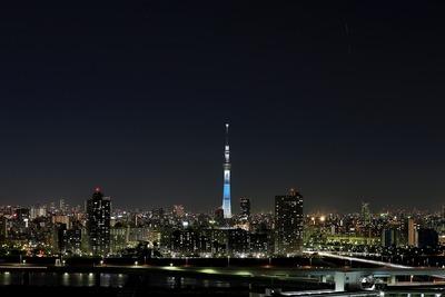東京スカイツリーとISS