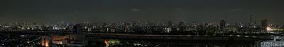 夏至ライトダウンの東京パノラマ夜景