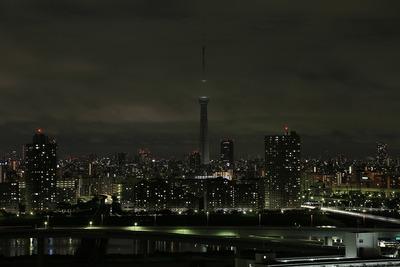 東京スカイツリー消灯