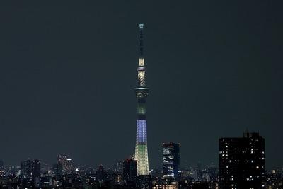 東京スカイツリー夜景「明花:ゆり」