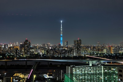 滋賀県をイメージした特別ライティング