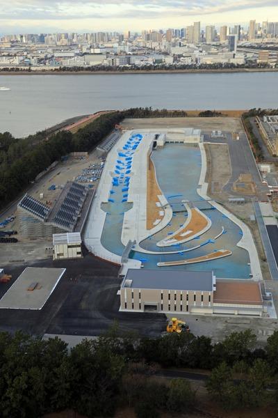 東京オリンピック カヌー・スラロームセンター