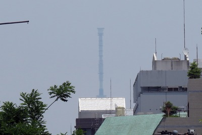 四ツ谷から見た東京スカイツリー