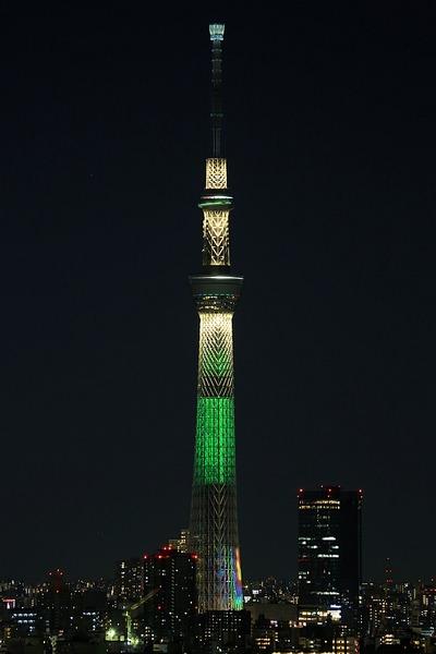 東京スカイツリー プロジェクションマッピング