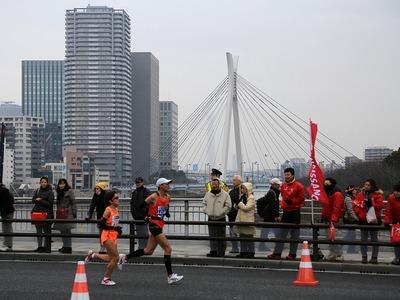 東京スカイツリーと東京マラソン2015