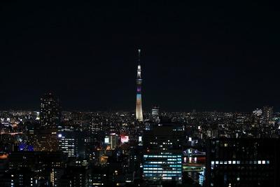 東京スカイツリー夜景「ラブリーショコラ」