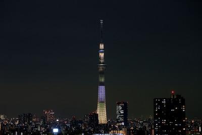 東京スカイツリー開業2周年記念特別ライティング『明花(ゆり)』