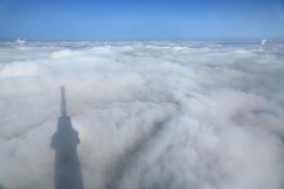 東京スカイツリーから見た雲海