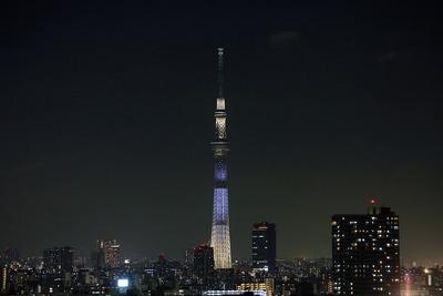 東京スカイツリー夜景「AGAIN」