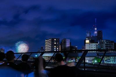 隅田川花火大会と東京スカイツリー