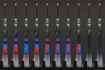 「スター・ウォーズ/フォースの覚醒」公開記念ライティング【光と闇の戦い】