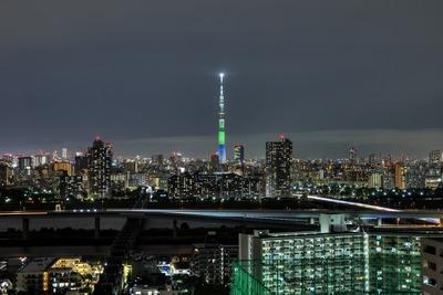 鳥取県をイメージした特別ライティング