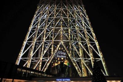 東京スカイツリータウンドリームクリスマス2016