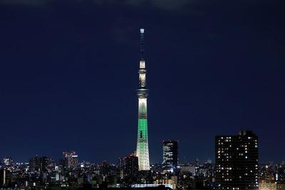 東京スカイツリー夜景「シャンパンツリー」