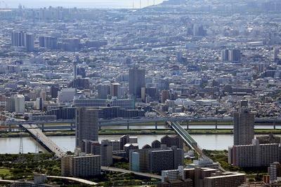 東京スカイツリーから見た当観測所