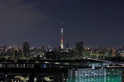 東京スカイツリー夜景「マリーゴールド」