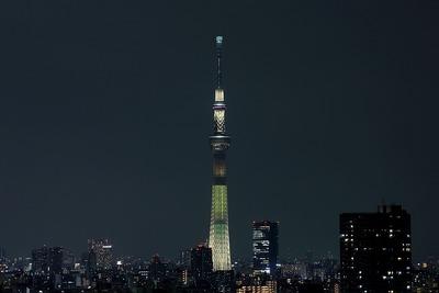 東京スカイツリー夜景「明花:明花」