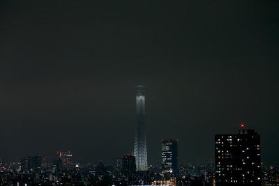 東京スカイツリー開業2周年記念特別ライティング『新年特別』