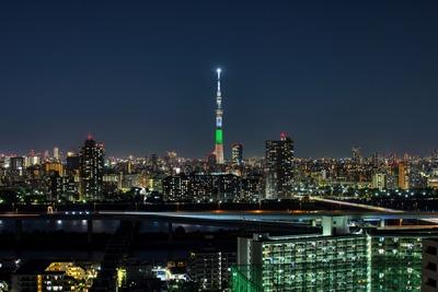 愛媛県をイメージした特別ライティング