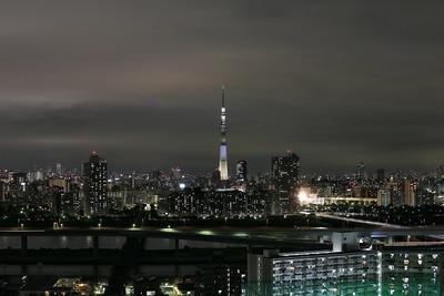 東京スカツリー夜景「明花/ゆり」