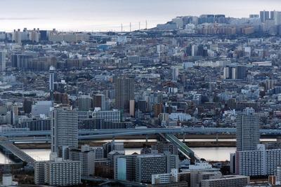 東京スカイツリーから見た船堀方面