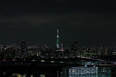 東京スカイツリー開業2周年記念特別ライティング『ホワイトツリー』