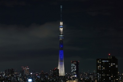 東京スカイツリー夜景「夜空」