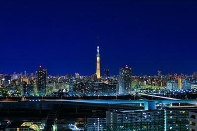 ゴールドの東京スカイツリー