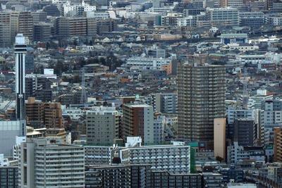 東京スカイツリーから見た船堀
