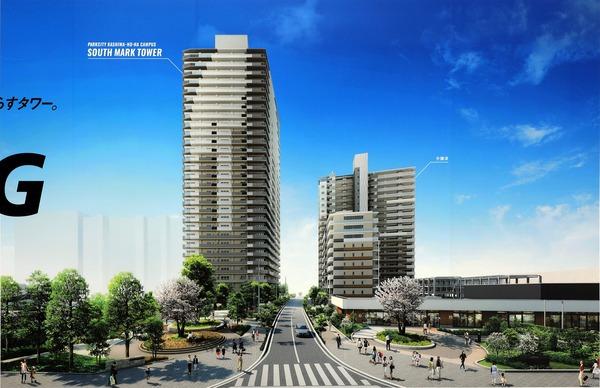 パークシティ柏の葉キャンパス サウスマークタワー 建物完成予想CG