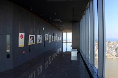 メディアシップの展望室