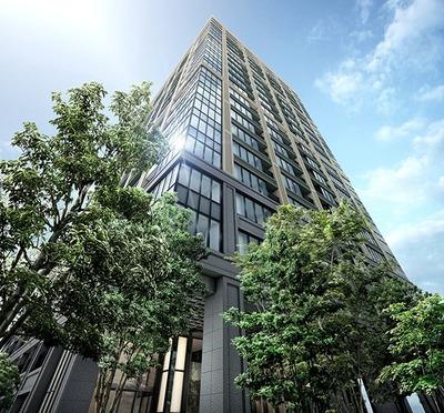 シティタワー銀座東 外観完成予想図