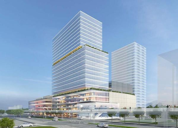 高崎駅東口栄町地区第一種市街地再開発事業